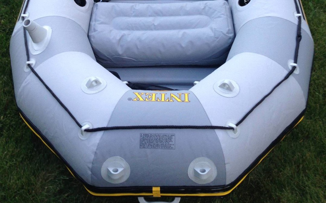 Intex Mariner Inflatable Boat Review: Best Inexpensive Raft [Man Makes Fire]