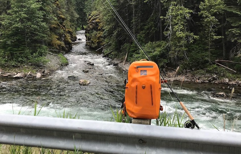 To Get Off the Beaten Path, Try a Backpack for Fishing